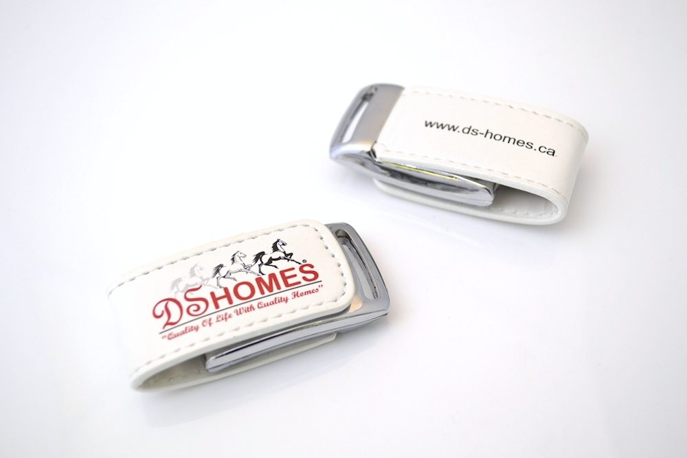 Leather USB Drive - WU14 - Skins Luxury Flash Drive