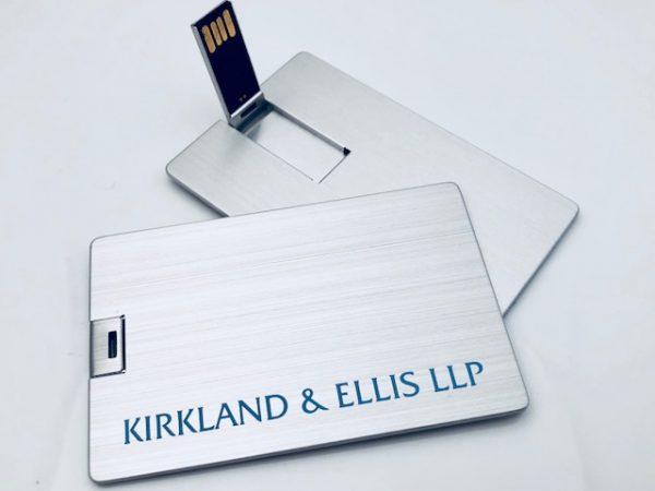Metal USB Business Card