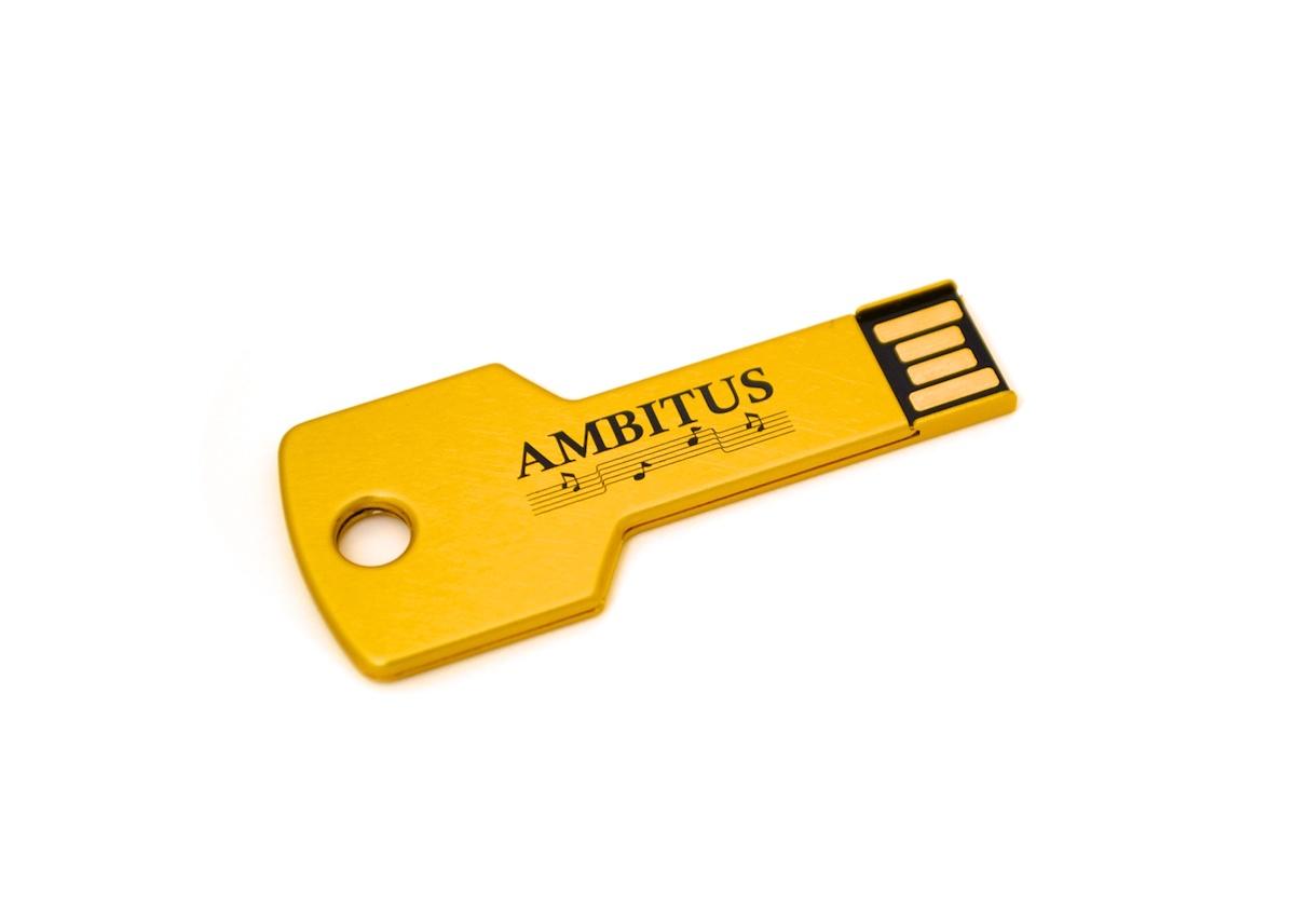 Key Shaped USB key - M7