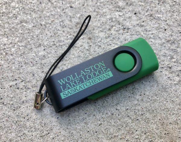 twister usb drive - green