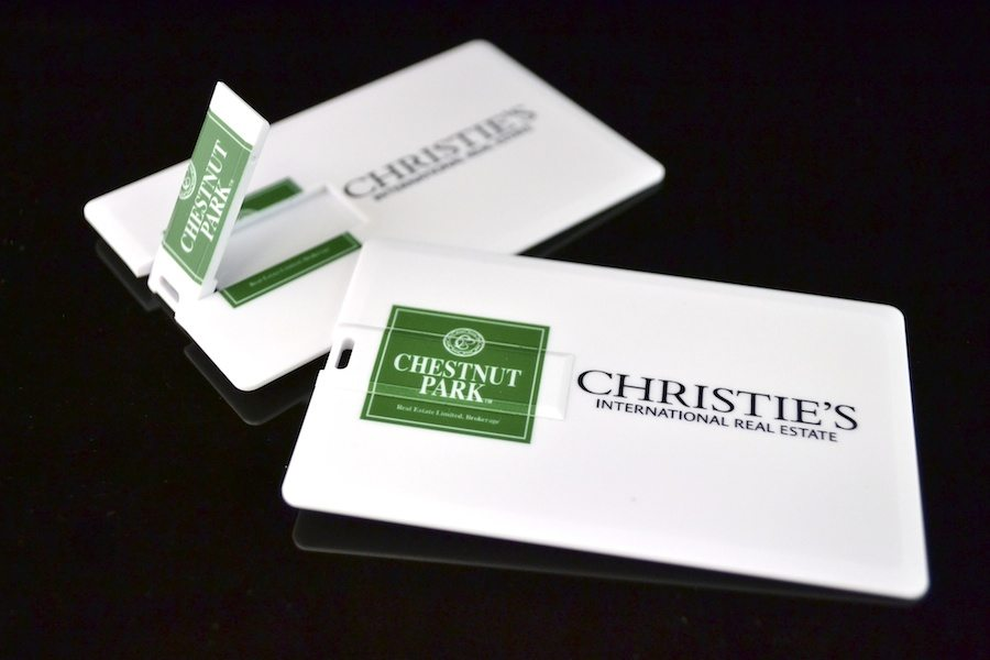 USB Business Card - C2 - Platinum Credit Card USB
