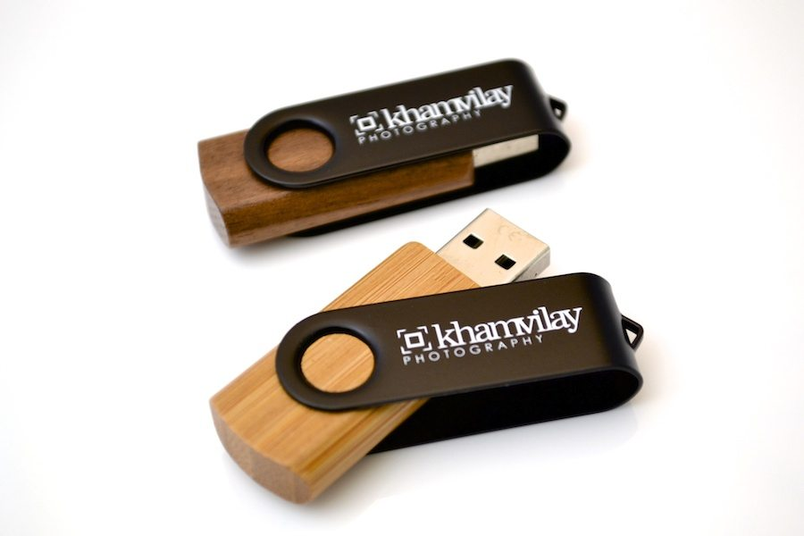 Wooded USB Twister